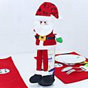 hesapli Evde Çocuk-Santa Claus şarap şişesi süslemek evine işgal noel süsleri