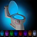 hesapli Yenilikçi LED Işıklar-BRELONG® 1 parça Tuvalet lambası Batarya Sensör <5V