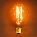 hesapli Gereçler ve Oto Parçaları-1pc 40 W E26 / E27 G95 Sıcak Beyaz 2300 k Retro / Dekorotif Incandescent Vintage Edison Ampul 220-240 V