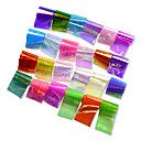 cheap Makeup & Nail Care-1set 24 colors broken glass sticker nail art starry sky laser shinning diy transfer foils nail art tips craft decorations nd285