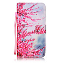 cheap Galaxy J Series Cases / Covers-Case For Samsung Galaxy J7(2016) / J5(2016) Wallet / Card Holder / Flip Full Body Cases Flower Hard PU Leather for On 5 / J7 (2016) / J5 (2016)