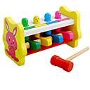 رخيصةأون Huawei أغطية / كفرات-مطرقة / الباوند لعبة ألعاب الأطفال و الرضع ألعاب تربوية Rabbit حداثة التعليم خشبي خشب 1 pcs للأطفال للصبيان للفتيات ألعاب هدية