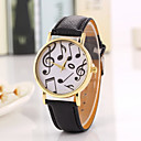 cheap Headsets & Headphones-Women's Quartz Wrist Watch Cool / Casual Watch PU Band Vintage / Casual / Fashion Black