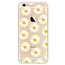 abordables Coques d'iPhone-Coque Pour Apple iPhone 8 iPhone 8 Plus iPhone 6 iPhone 7 Plus iPhone 7 Ultrafine Motif Coque Fleur Flexible TPU pour iPhone 8 Plus