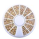 hesapli Makyaj ve Tırnak Bakımı-1 pcs Tırnak Takısı İnci tırnak sanatı Manikür pedikür Günlük madeni / Moda / Nail Jewelry