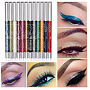 preiswerte Bürobedarf-12 Farben Lidschatten Augenbrauen Lidschatten-Wachsmalstift Professionell Glänzender Schein Modisch 12 pcs Bilden Kosmetik Alltag Make-up Halloween Make-up Party Make-up Lang anhaltend Kosmetikum