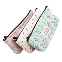 Buy New Flower Floral Pencil Pen Canvas Case Cosmetic Makeup Tool Bag Storage Pouch Purse Color Random
