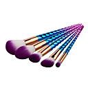 hesapli Makyaj ve Tırnak Bakımı-5pcs Makyaj fırçaları Profesyonel Fırça Setleri / Allık Fırçası / Far Fırçası Sentetik Saç Portatif / Profesyonel / Tam Kaplama Metal / Plastik