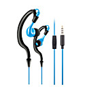 cheap Headsets & Headphones-KM-R02 In Ear / Neck Band Wired Headphones Dynamic Plastic Sport & Fitness Earphone with Microphone / Noise-isolating Headset