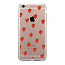 ieftine Carcase iPhone-Maska Pentru Apple iPhone X iPhone 8 iPhone 8 Plus Transparent Model Capac Spate Fruct Moale TPU pentru iPhone X iPhone 8 Plus iPhone 8