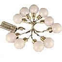저렴한 LED 캔들 조명-4m 스트링 조명 20 LED 엘자 따뜻한 화이트 / RGB <5 V / IP44