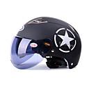 hesapli Kolyeler-Yarım Kask Anti-UV Hava Alan Motosiklet Kaskları