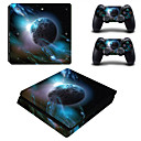 voordelige PS4-accessoires-B-SKIN Sticker Voor PS4 Slim ,  Sticker PVC 1 pcs eenheid
