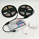 Χαμηλού Κόστους Προβολείς LED-ZDM® 10 ίντσες Φωτολωρίδες RGB 600 LEDs 2835 SMD RGB Τηλεχειριστήριο / Μπορεί να κοπεί / Με ροοστάτη 12 V / Αυτοκόλλητο