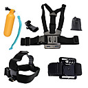 cheap Accessories For GoPro-Chest Harness / Front Mounting / Floating Buoy All in One For Action Camera Gopro 6 / All Gopro / Xiaomi Camera Diving / Surfing / Ski / Snowboard PVC(PolyVinyl Chloride) / Cotton / ABS - 1 pcs