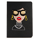 abordables Pochettes / Coques d'iPad-Coque Pour Apple Avec Support / Clapet / Motif Coque Intégrale Femme Sexy Dur faux cuir pour iPad Air / iPad Air 2 / iPad (2017)