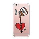 cheap iPhone Cases-Case For Apple iPhone X / iPhone 8 Ultra-thin / Pattern Back Cover Word / Phrase Soft TPU for iPhone X / iPhone 8 Plus / iPhone 8