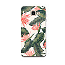 cheap Galaxy A Series Cases / Covers-Case For Samsung Galaxy A7(2017) / A3(2017) Ultra-thin / Pattern Back Cover Flower Soft TPU for A3(2017) / A7(2017) / A5(2016)