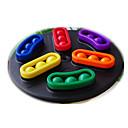 billige Sykkellykter-Brettspill Labyrinter og logikkspill Labyrint Leketøy Sirkelformet Plast Deler Barne Unisex Gave