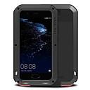 halpa Huawei kotelot / kuoret-Etui Käyttötarkoitus Huawei Vedenkestävä Iskunkestävä Suojakuori Yhtenäinen väri Kova Metalli varten P10 Plus P10 Huawei