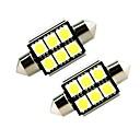 cheap LED Strip Lights-ZIQIAO 2pcs Car Light Bulbs SMD 5050 Interior Lights