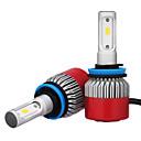 cheap Car Headlights-2pcs H8 / H11 / H9 Car Light Bulbs 36W Integrated LED 3600lm LED Headlamp