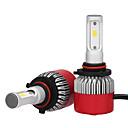 tanie Car Signal Lights-2pcs 9005 Samochód Żarówki 36W LED zintegrowany 3600lm LED Lampka sufitowa