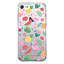 voordelige iPhone-hoesjes-hoesje Voor Apple iPhone X iPhone 8 Ultradun Patroon Achterkant Flamingo Fruit Zacht TPU voor iPhone X iPhone 8 Plus iPhone 8 iPhone 7