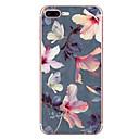 abordables Coques d'iPhone-Coque Pour Apple iPhone 7 / iPhone 7 Plus Motif Coque Fleur Flexible TPU pour iPhone XS / iPhone XR / iPhone XS Max