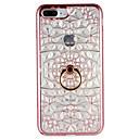 voordelige iPhone-hoesjes-hoesje Voor Apple iPhone 7 Plus iPhone 7 Ringhouder Achterkant Geometrisch patroon Zacht TPU voor iPhone 7 Plus iPhone 7 iPhone 6s Plus