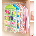 cheap Bathroom Gadgets-Plastic Normal Multifunction Home Organization, 1set Storage Baskets Hangers Storage Bags