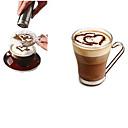 hesapli Masa Örtüleri-1pc Paslanmaz Çelik Kahve Stencil Manual ,