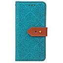 ieftine Carcase / Huse de Huawei-Maska Pentru Huawei Titluar Card Portofel Cu Stand Întoarce Model Embosat Carcasă Telefon Floare Greu PU piele pentru P10 Plus P10 Lite