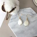 Недорогие Серьги-Жен. Серьги-слезки - Свисающие Мода Euramerican Бижутерия Белый Назначение Повседневные