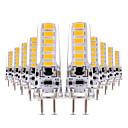 voordelige Mechanische sloten-YWXLIGHT® 10 stuks 4W 300-400lm 2-pins LED-lampen T 12 LED-kralen SMD 5730 Dimbaar Decoratief Warm wit Koel wit 12V 12-24V
