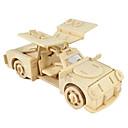 رخيصةأون 3D الألغاز-لعبة سيارات قطع تركيب3D تركيب النماذج الخشبية طيارة سيارة حصان 3D اصنع بنفسك خشب كلاسيكي صبيان للجنسين هدية