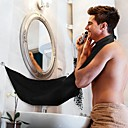 cheap Bathroom Gadgets-Apron Black Beard Apron Hair Shave Apron for Man Waterproof Floral Cloth Household Cleaning Protecter
