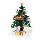 ieftine HDMI-Puzzle 3D Pomi de Crăciun Lucru Manual Din Hârtie Crăciun Reparații Articole de mobilier Clasic Unisex Jucarii Cadou