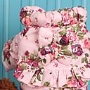 preiswerte Hundespielsachen-Hund Mäntel Hundekleidung Prinzessin Dunkelblau Rosa Baumwolle Kostüm Für Haustiere warm halten