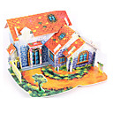 cheap Dog Clothing & Accessories-3D Puzzle Jigsaw Puzzle Paper Model House DIY High Quality Paper Classic Kid's Unisex Boys' Girls' Toy Gift