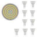baratos Luminárias de LED  Duplo-Pin-10pçs 5 W 400 lm GU10 / GU5.3 / E26 / E27 Lâmpadas de Foco de LED 80 Contas LED SMD 2835 Decorativa Branco Quente / Branco Frio 220-240 V / 10 pçs / RoHs