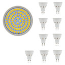 hesapli Küpeler-10pcs 5 W 400 lm GU10 / GU5.3 / E26 / E27 LED Spot Işıkları 80 LED Boncuklar SMD 2835 Dekorotif Sıcak Beyaz / Serin Beyaz 220-240 V / 10 parça / RoHs
