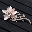 cheap Earrings-Women's Brooches - Flower, Animal Brooch Gold For Wedding / Party / Special Occasion