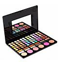 preiswerte Make-up & Nagelpflege-78 Farben Kombination Lidschatten / Puder Puder Alltag Make-up