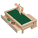 رخيصةأون أدوات الحمام-قطع تركيب3D مجموعات البناء النماذج الخشبية مفروشات اصنع بنفسك خشبي كلاسيكي للجنسين ألعاب هدية