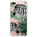 hesapli iPhone Kılıfları-Pouzdro Uyumluluk Apple iPhone 7 Plus iPhone 7 Şeffaf Temalı Arka Kapak ağaç Hayvan Yumuşak TPU için iPhone 7 Plus iPhone 7 iPhone 6s