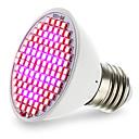preiswerte Stirnlampen-4.5W 2500-3000lm E27 Wachsende Glühbirne 106 LED-Perlen SMD 2835 Blau Rot 85-265V