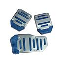 cheap Car Headlights-Blue 3PCS Auto Manual Pedal Pad