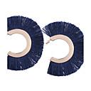Недорогие Серьги-Жен. С кисточками Серьги-слезки - На заказ, Геометрия, кисточка Красный / Радужный / Темно-синий Назначение Подарок Повседневные Для вечеринок