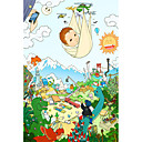 ieftine Papetărie-Puzzle Cerb Desen animat Anime Desen animat Unisex Jucarii Cadou